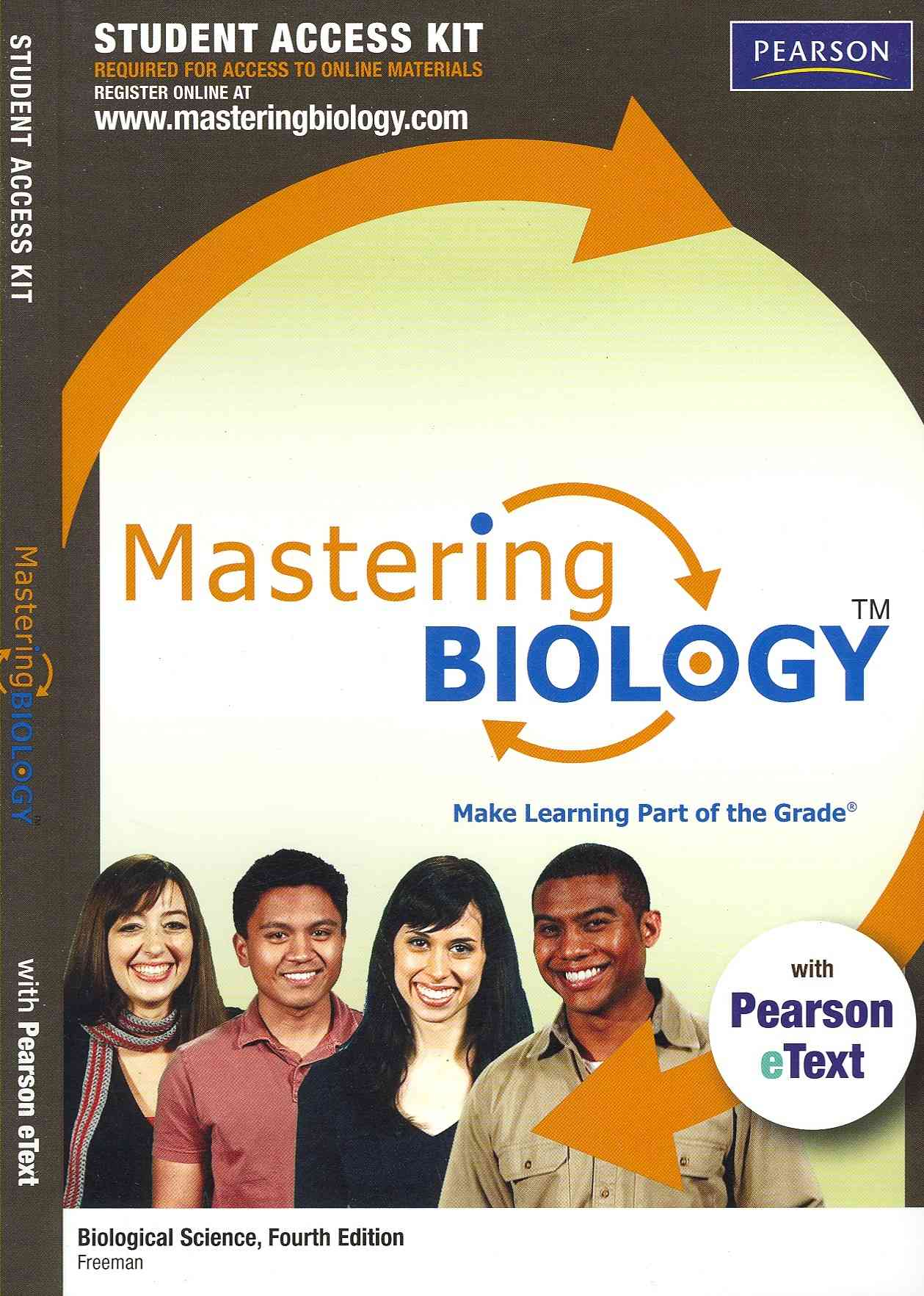 Benjamin-Cummings Publishing Company Masteringbiology with Pearson Etext Student Access Kit for Biological Science (4th Edition) by Freeman, Scott [Hardcover] at Sears.com